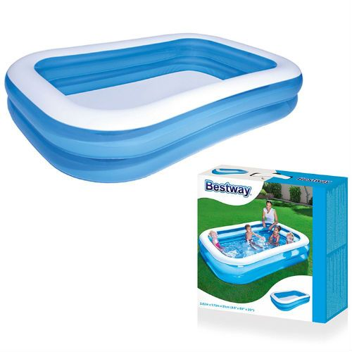 Bestway Rectangular Inflatable Family Pool - 103 inch