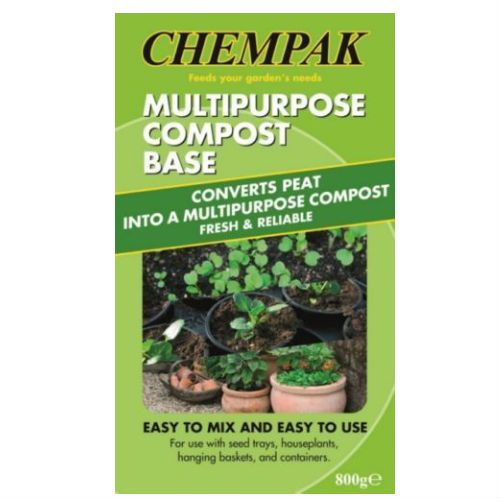 Chempak Multipurpose Compost Base with Wetting Agent 800g