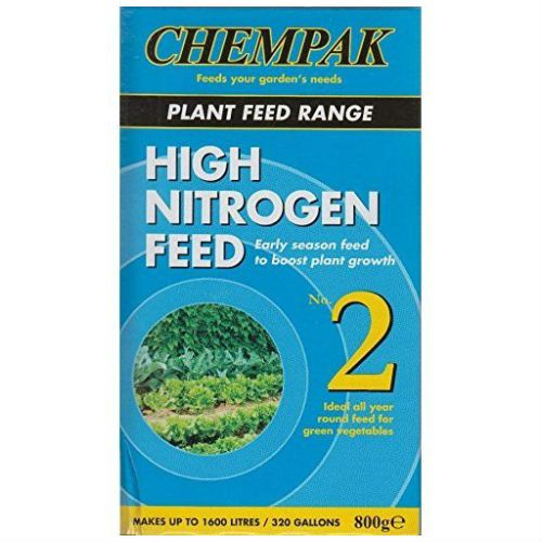 Chempak No. 2 High Nitrogen Plant Feed 800g