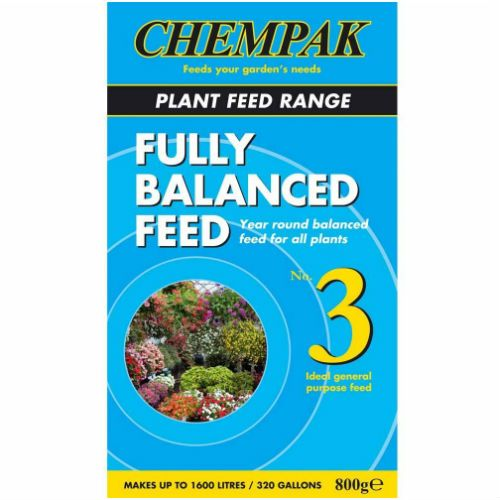 Chempak No. 3 Fully Balanced Plant Feed 800g
