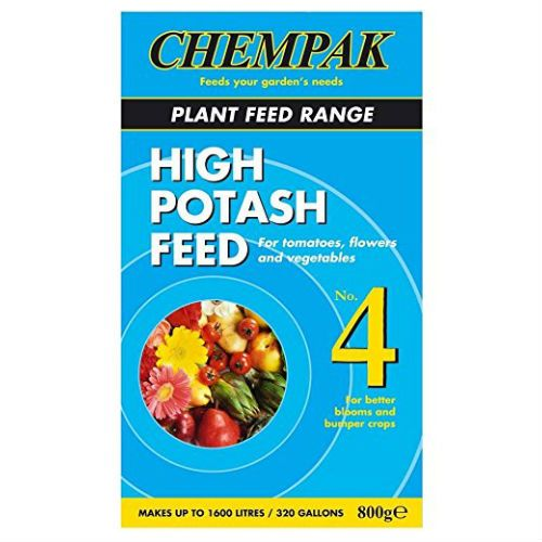 Chempak No.4 High Potash Feed Garden Fertiliser 800g