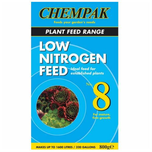 Chempak No.8 Low Nitrogen Plant Feed 800g