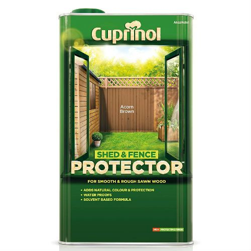 Cuprinol Acorn Brown Shed and Fence Protector 5L