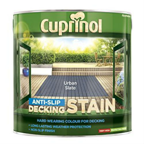 Cuprinol Anti Slip Decking Stain Urban Slate 2.5L