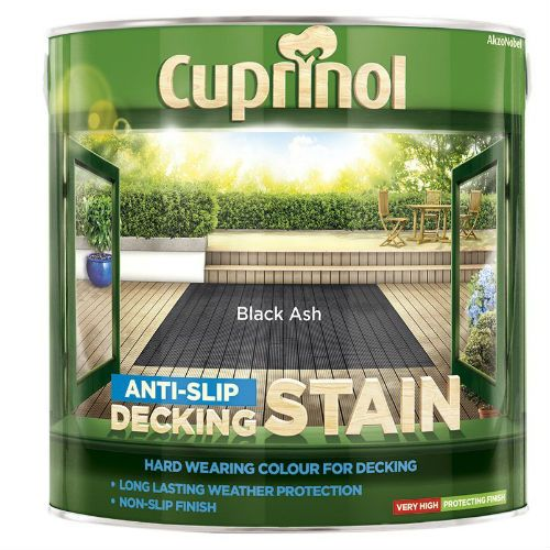 Cuprinol Black Ash Anti Slip Decking Stain 2.5L