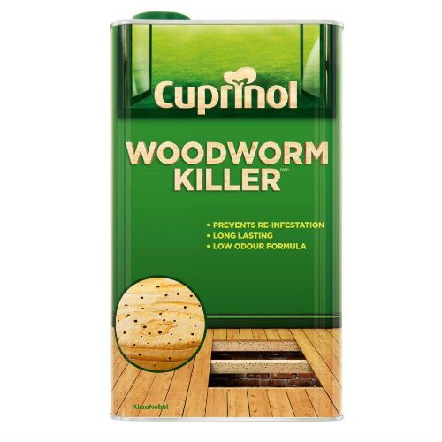 Cuprinol Natural Low Odour Woodworm Killer 1L