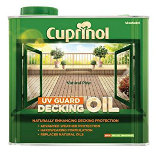 Cuprinol Natural Pine Decking Oil and Protector 2.5L