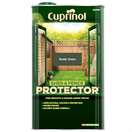 Cuprinol Rustic Green Shed and Fence Protector 5L