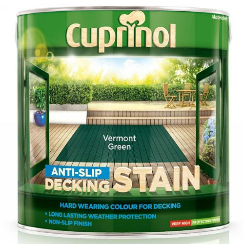 Cuprinol Vermont Green Ultra Tough Decking Stain  2.5L