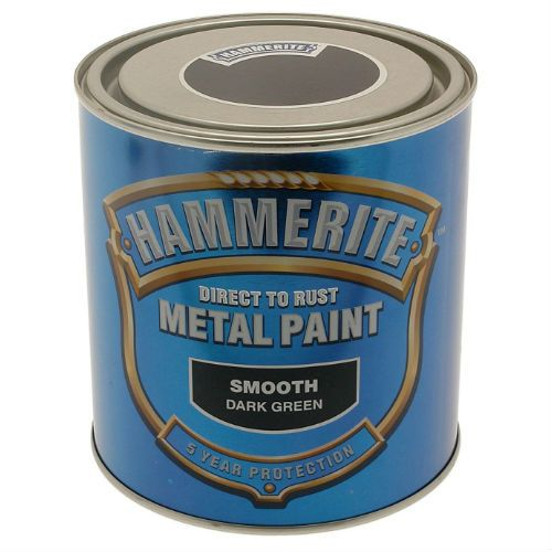 Hammerite Smooth Dark Green Metal Paint 250ml