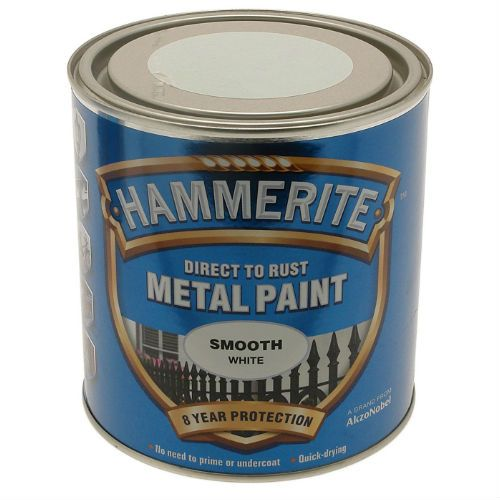 Hammerite Smooth White Metal Paint 2.5L
